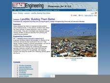 Landfills: Building Them Better Lesson Plan