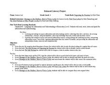 Balanced Literacy Project Lesson Plan