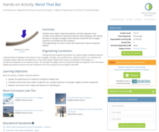 Bend That Bar Activities & Project