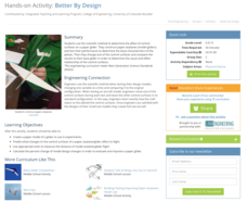 Better By Design Activities & Project