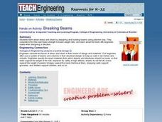 Breaking Beams Lesson Plan