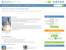 Fun with Bernoulli Lesson Plan
