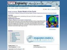 Scale Model of the Earth Lesson Plan