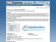 River Flow Rate Lesson Plan