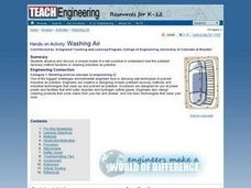 Washing Air Lesson Plan