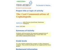 The Cool Communication of Cephalopods Lesson Plan
