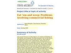 Eat 'em And Weep: Problems Involving Commercial Fishing Lesson Plan