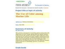 The Use of Color Among Marine Life Lesson Plan
