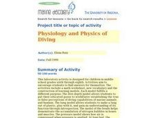 Physiology and Physics of Diving Lesson Plan