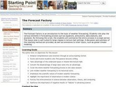 The Forecast Factory Lesson Plan