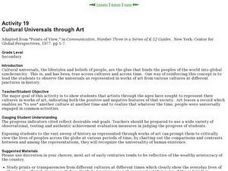 Cultural Universals Through Art Lesson Plan