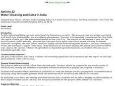 Blessing and Curse in India Lesson Plan