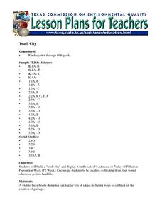 Trash City Lesson Plan