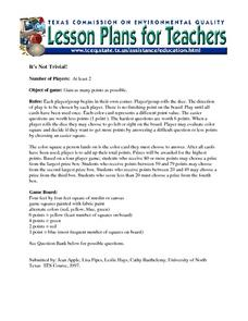 It's Not Trivial! Lesson Plan