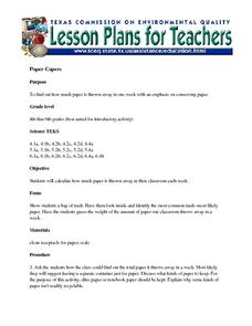 Paper Capers Lesson Plan