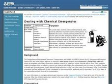 Dealing with Chemical Emergencies Lesson Plan