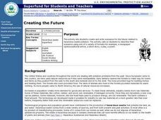 Creating the Future Lesson Plan