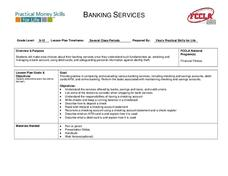 Banking Services Lesson Plan