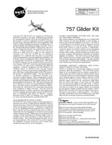 757 Glider Kit Lesson Plan