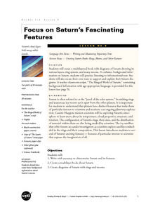Focus on Saturn's Fascinating Features Lesson Plan