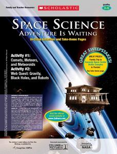 Space Science: Adventure is Waiting Lesson Plan