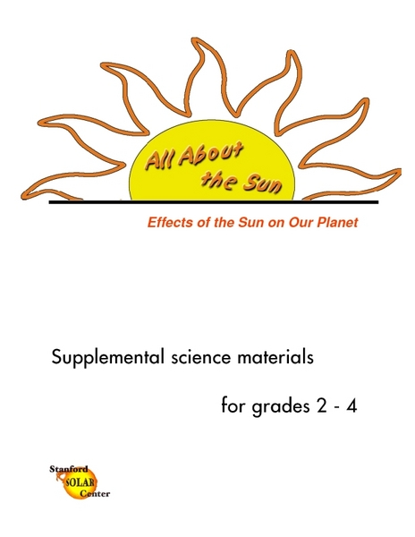 Effects of the Sun on Our Planet (Grades 2-4) Lesson Plan