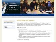 Fish Habitat and Humans Lesson Plan