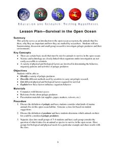 Survival in the Open Ocean Lesson Plan