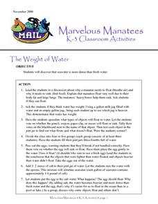 The Weight of Water Lesson Plan