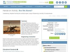 Are We Alone? Activities & Project