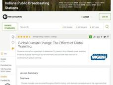 Global Climate Change: The Effects of Global Warming Lesson Plan