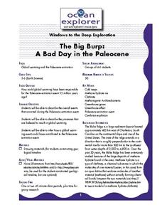 The Big Burp:A Bad Day in the Paleocene Lesson Plan