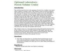 Optional Laboratory: Forest Volume Cruise Lesson Plan