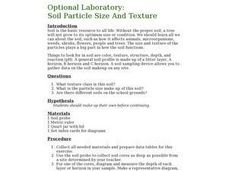 Optional Laboratory: Soil Particle Size and Texture Lesson Plan