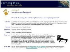 Art With Natural Materials Lesson Plan