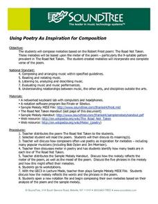 Using Poetry As inspiration for Composition Lesson Plan