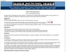 Music Creations Lesson Plan