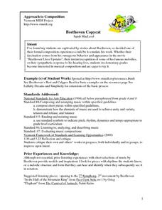 Beethoven Lives Upstairs Lesson Plans & Worksheets