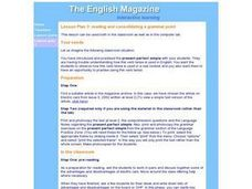 Reading and Consolidating a Grammar Point Lesson Plan
