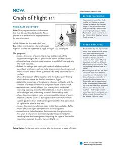 Crash of Flight 111 Lesson Plan