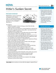 Hitler's Sunken Secret Lesson Plan