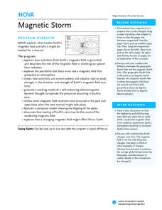 Magnetic Storm Lesson Plan
