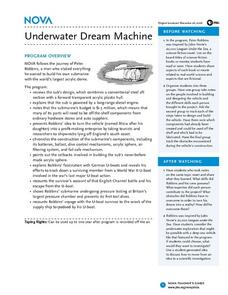 Underwater Dream Machine Lesson Plan