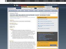 Checks and Balances in Supreme Court Nominations Lesson ...