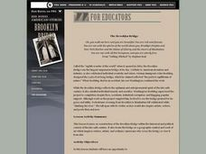 The Brooklyn Bridge Lesson Plan
