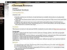 Uncharted Territory Lesson Plan