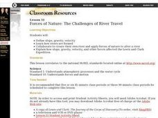 Forces of Nature: The Challenges of River Travel Lesson Plan