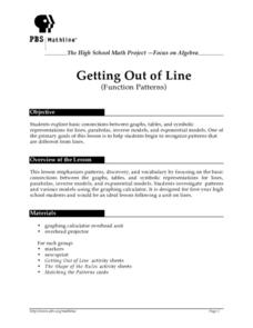 Getting Out of Line Lesson Plan
