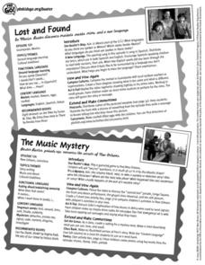 PBS Kids Go Buster-Lost and Found/ The Music Mystery Lesson Plan