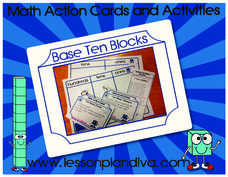 Base Ten Blocks Activities & Project